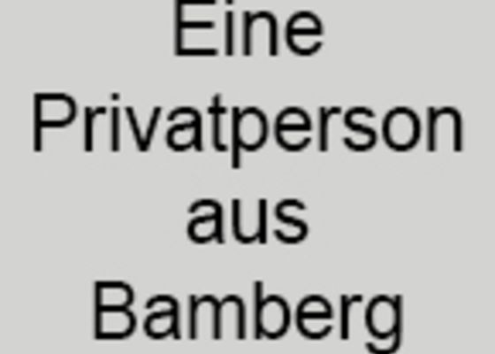 Privatperson aus Bamberg